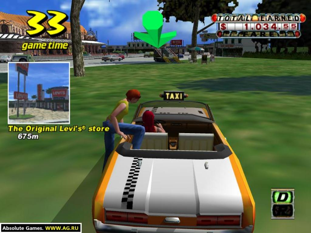 GAME BALAP KEREN CRAZY TAXI FULL DOWNLOAD