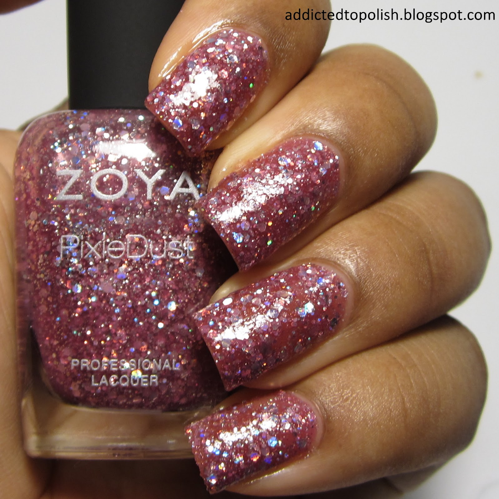 Zoya Arlo Magical PixieDust with Topcoat