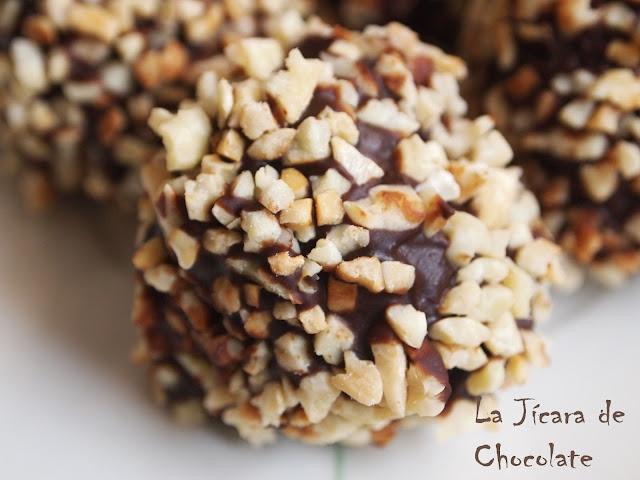 Cake Pops de Chocolate y Almendras
