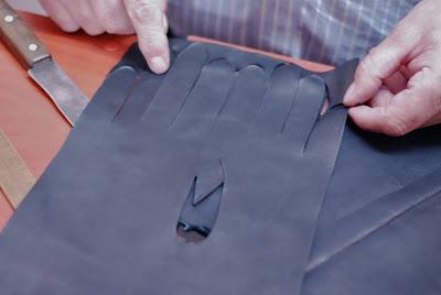 Warsaw glove maker: Czeslaw Jamrozinski