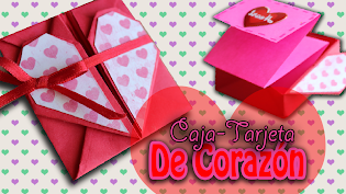 Carta de corazon plegable