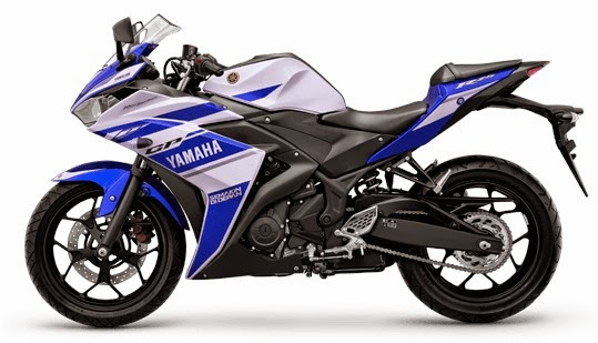 Specifications Yamaha YZF-R25 Blue White