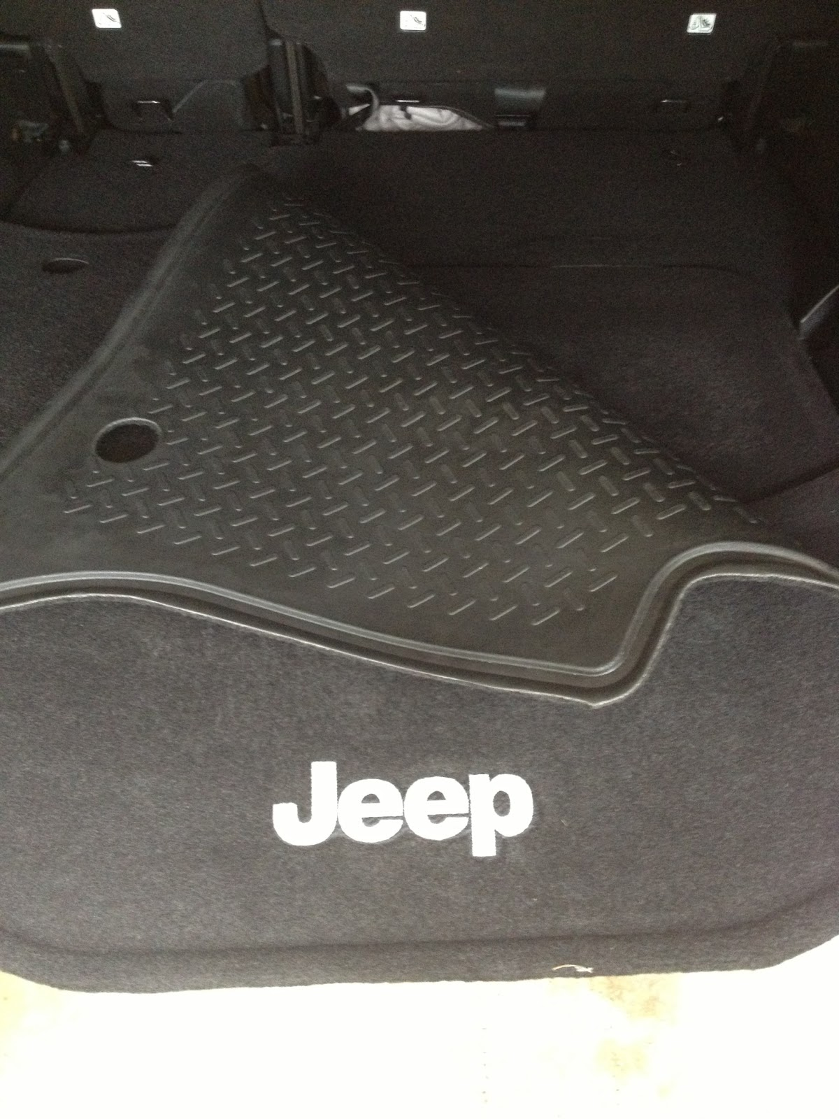 Floor mats jeep wrangler unlimited - The Jeep Wrangler Floor Liners In The Back Are Carpeted On One Side And Vinyl On The Other All You Need To Do Is Flip It Over To The Vinyl Side And Wahlah