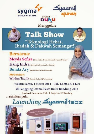 Launching Syaamil Tabz Bareng Meyda Sefira