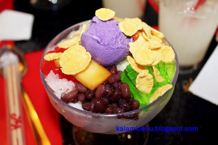 Check-a-HaloHalo at Kublai Khan's Ayala Terraces #KKhalohalo