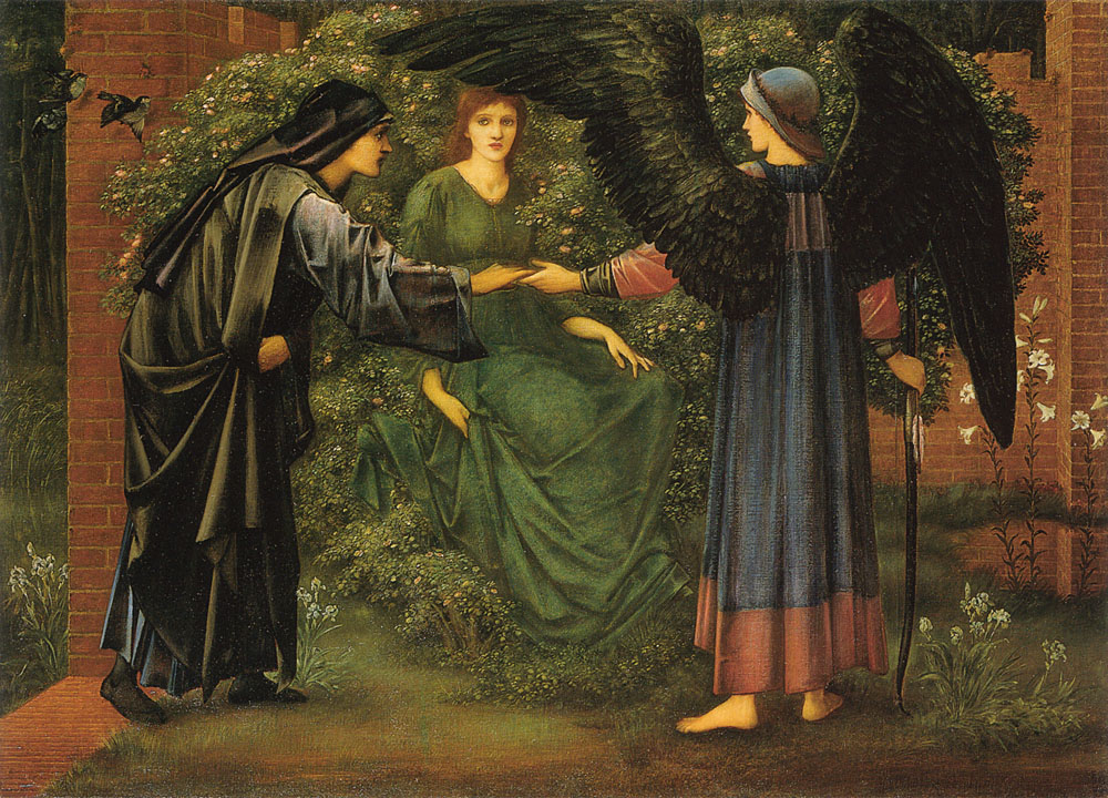 Edward Burne-Jones heart of rose
