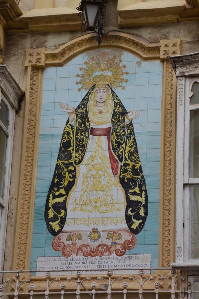 Cartagena Religious Mosaic