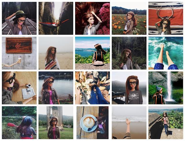 Hipster Barbie Selfie Parody