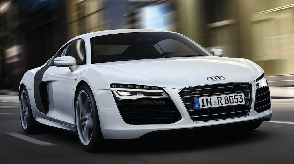Auto And Super Cars 2013 Audi R8 V10 Plus Equipped With Top Model