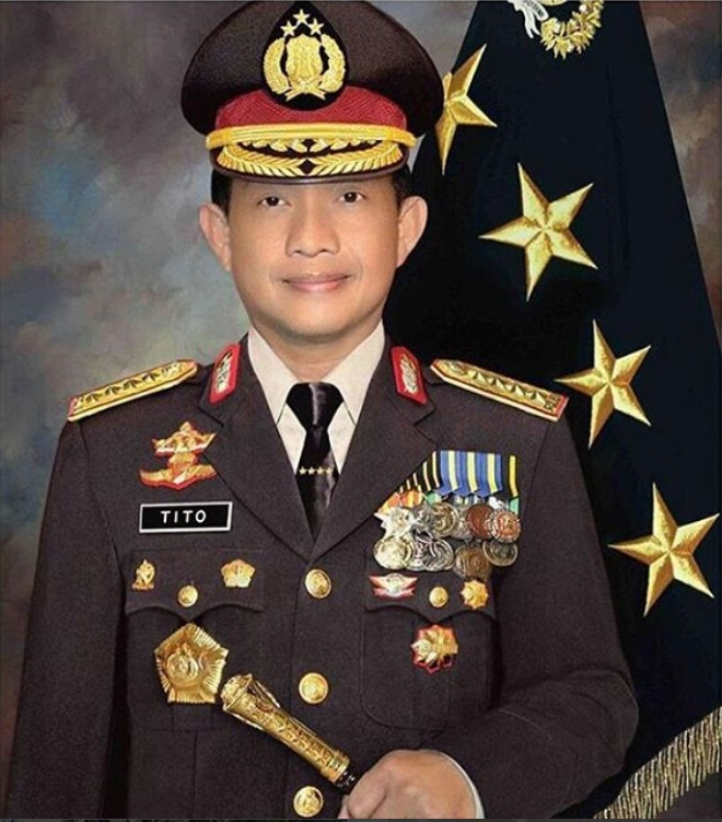 Kapolri = Jenderal Polisi Tito Karnavian dilantik=  20160703