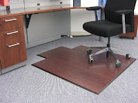 Bamboo Office Mat1