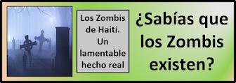 Apuesto a que no sabías que los Zombis existen.