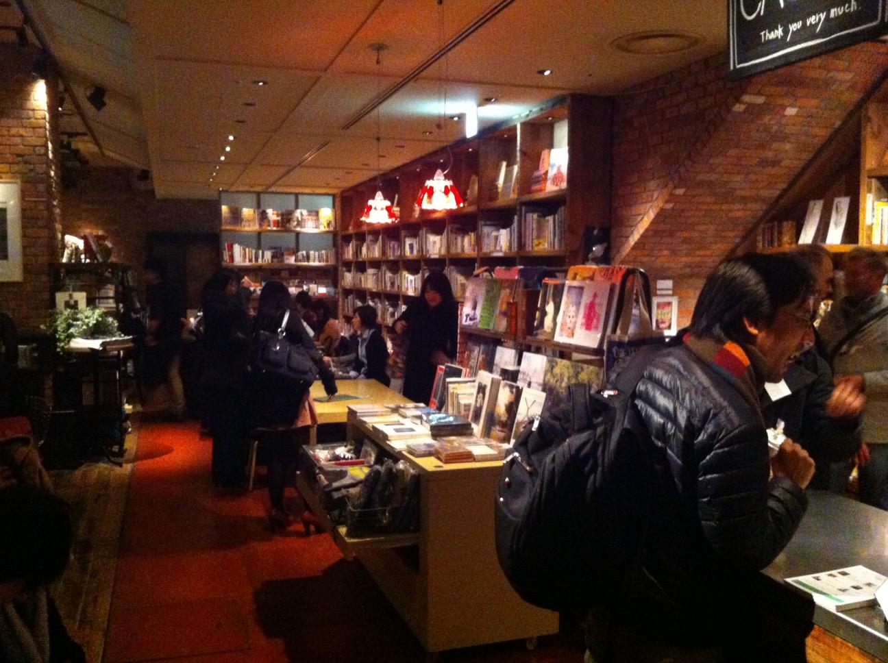 Books in the Brooklyn Parlor, Shinjuku, Tokyo.