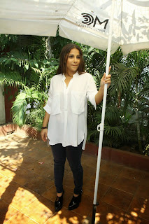 Actress Vidya Balan Latest Pictures in Jeans at Mukesh Chab Acting Workshop  8