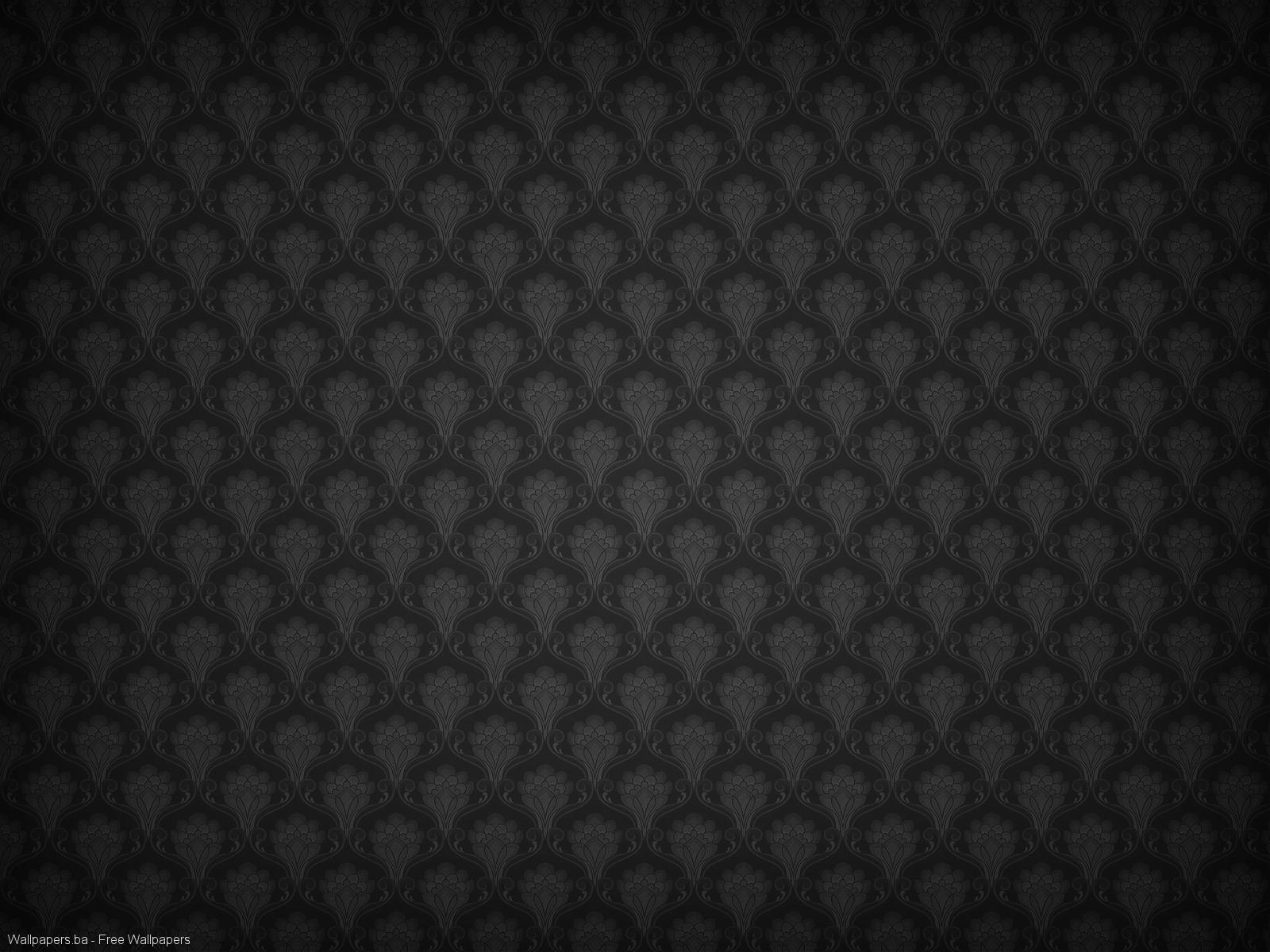 plain black background for android phone