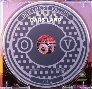 The Music of Cars Land CD art