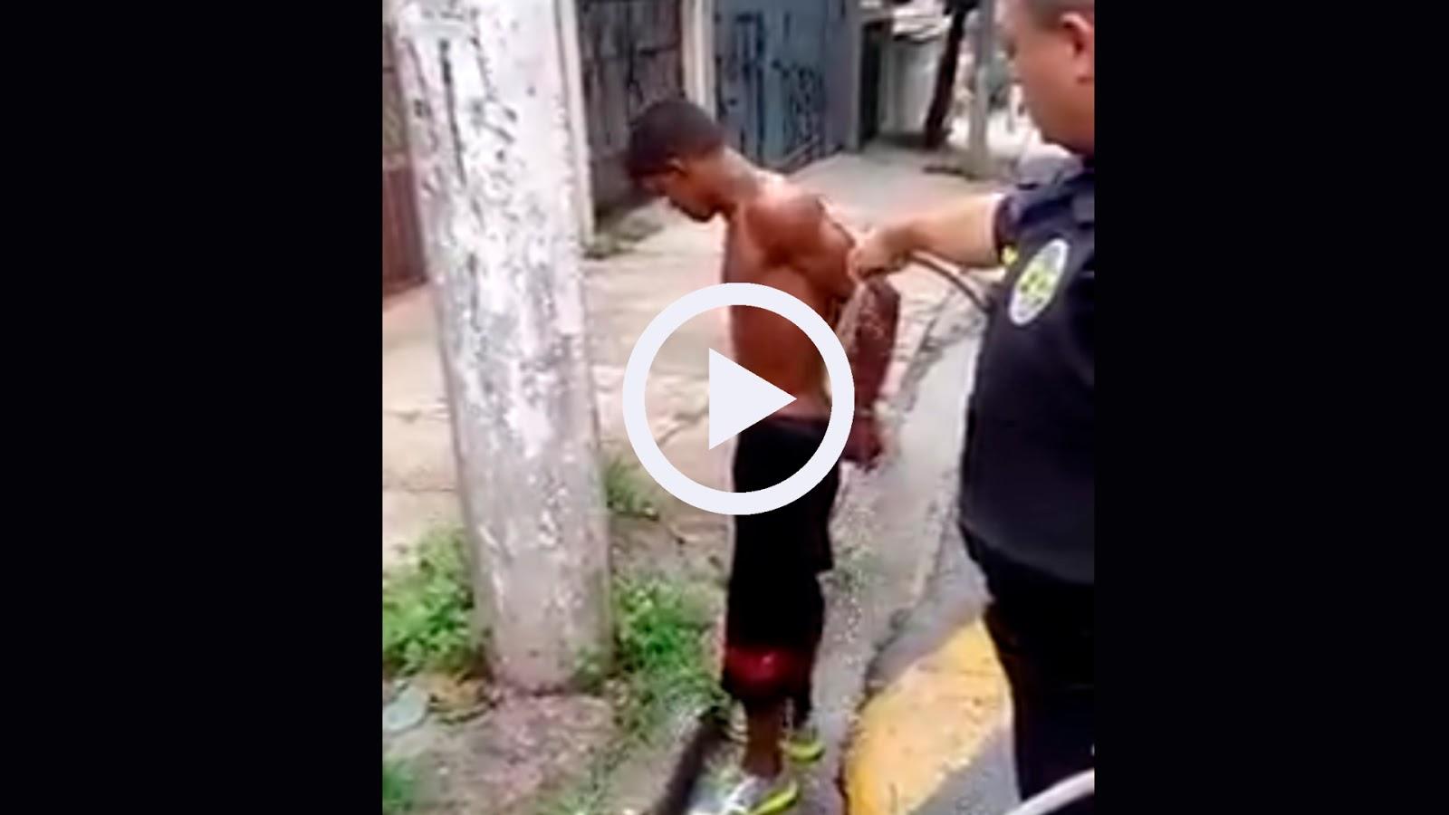 Portal Curió  Ladrão defeca nas calças ao ser abordado pela polícia ... 232553815b8