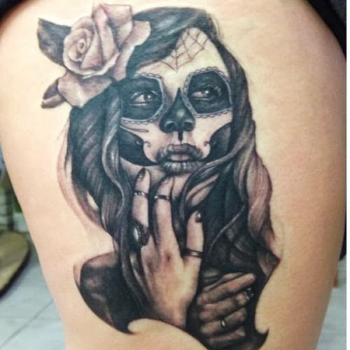 Mexican tattoos for Mexican girl tattoos