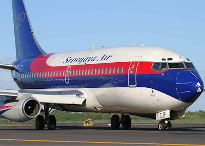 Sriwijaya Air.  Foto dari Internet