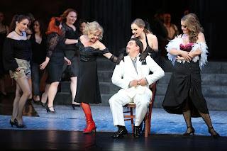 I gioielli della Madonna - Slovak National Theatre: Jana Bernáthová (Stella),Daniel Čapkovič (Rafaele), Mária Rychlová (Concetta), Michaela Šebestová (Serena)