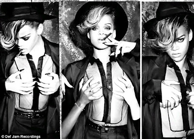 Rihanna gets some female attention in sexy new photo shoot 1