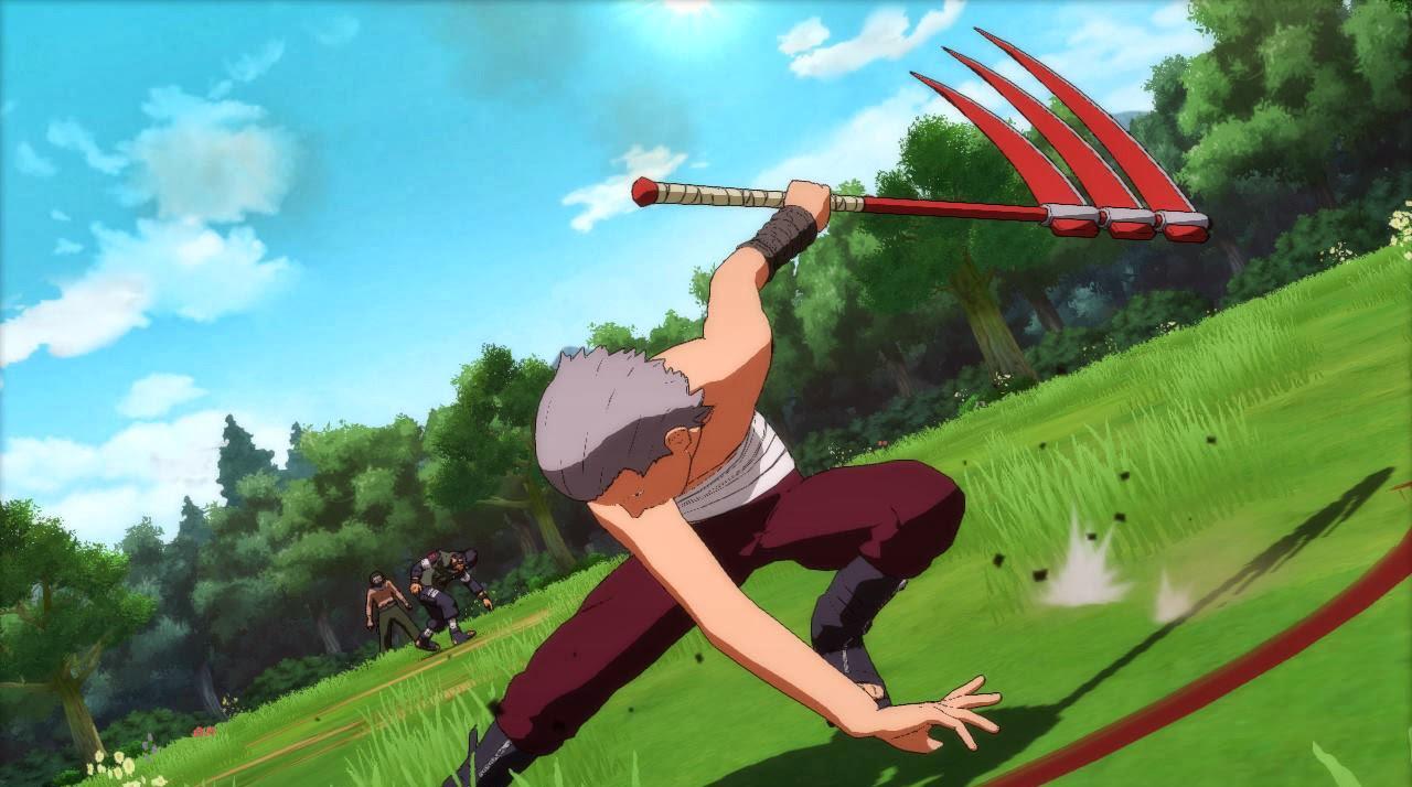 Hidan and Kakuzu Ultimate Team Jutsu Storm Revolution