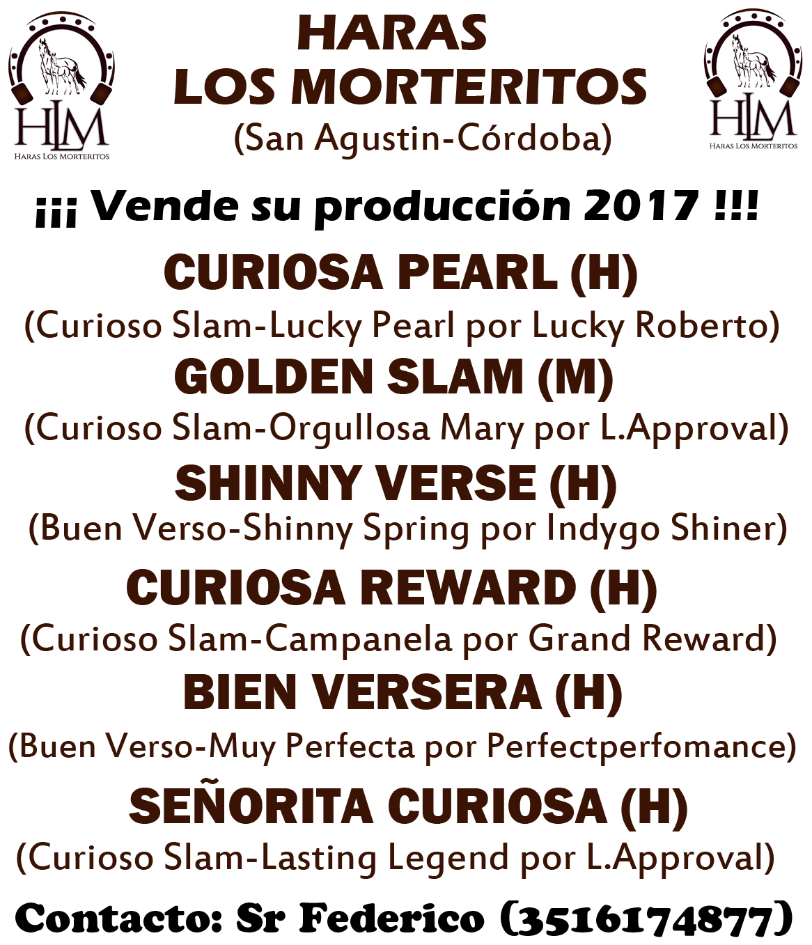 HARAS LOS MORTERITOS 1