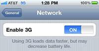 4. Matikan 3G