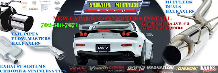 Sahara Muffler - Mufflers - Exhaust System