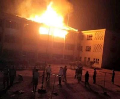 Fire in UNN Hostel
