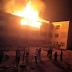 Photos: UNN Campus Hostel Razed Down By Fire