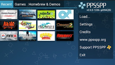 Tutorial Cara Download Dan Setting Emulator PPSSPP GOLD di Android Gratis Terbaru