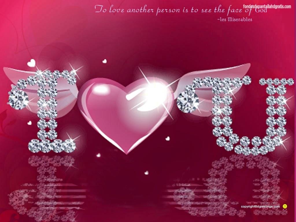 Imágenes de amor frases tiernas con brillo