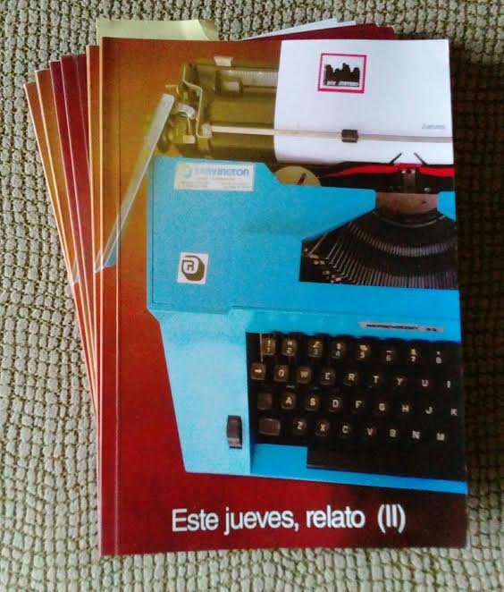 """Libro publicado junto a mis """"compañeros Juever@s."""""""