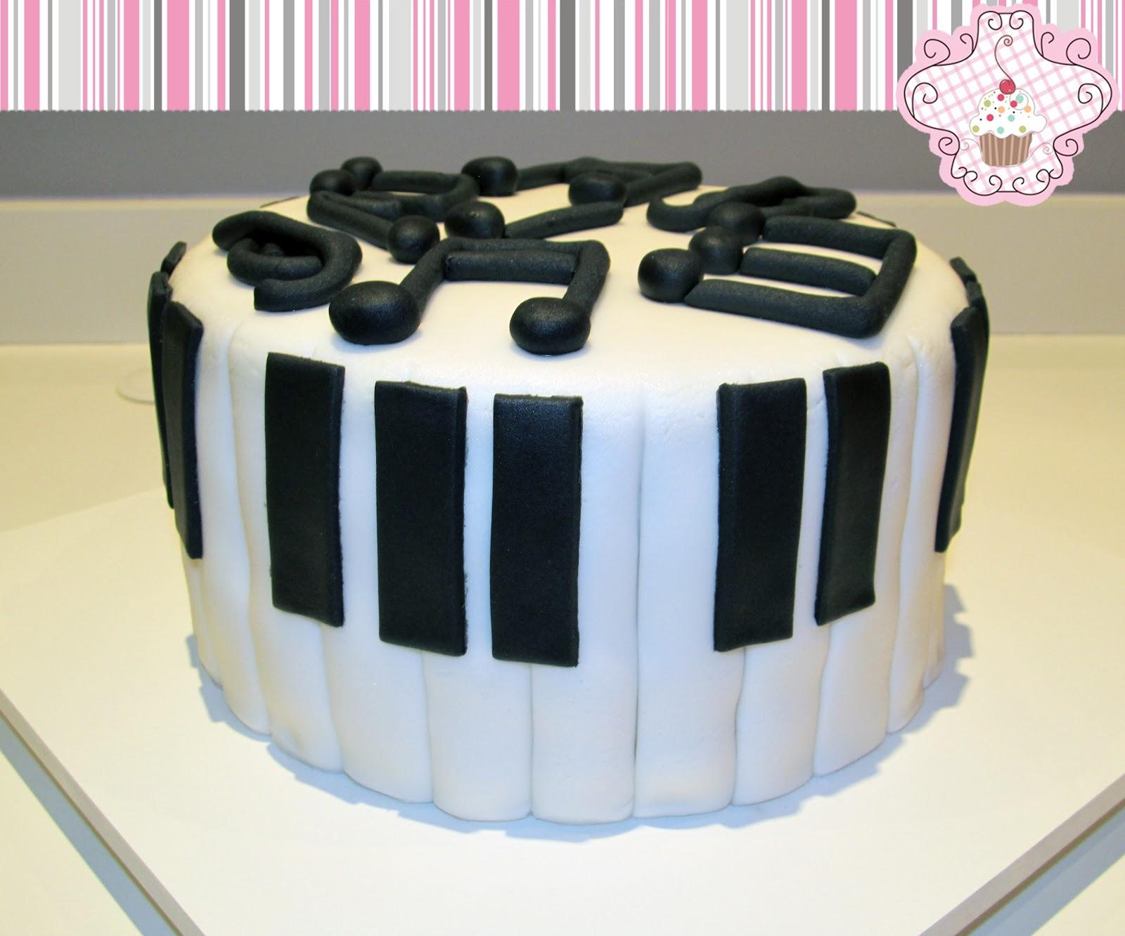 Piano Lavoro Cake Design : Maria de Ac?car: Bolo Pianista