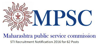 MPSC STI Recruitment 2016-17