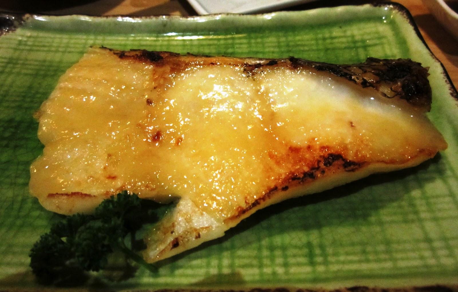 Talkwok senjyu bangsar village 2 kuala lumpur for Miso sauce for fish