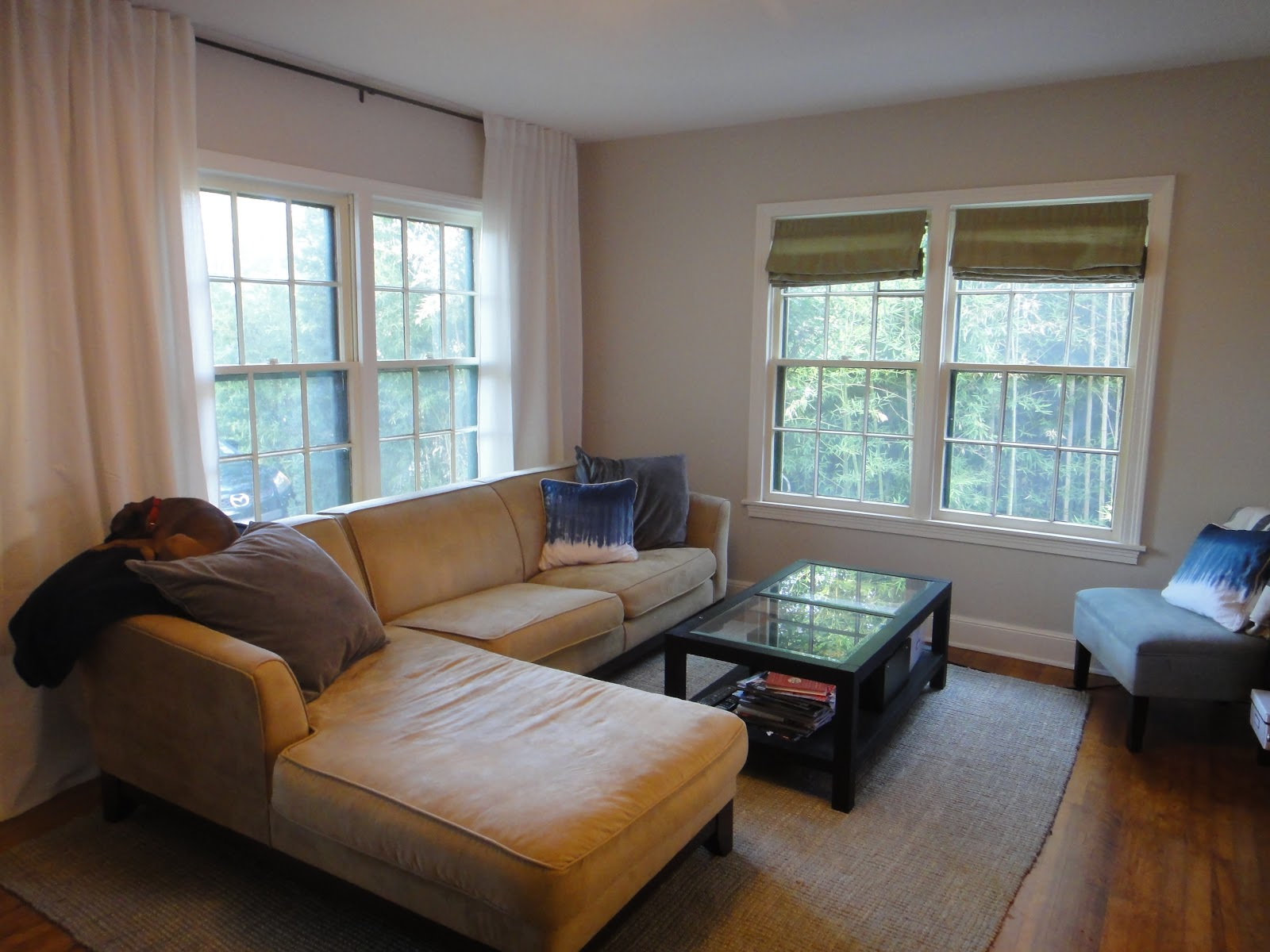 Orange Rugs For Living Room Thrifty Little Blog Living Room Rug Change