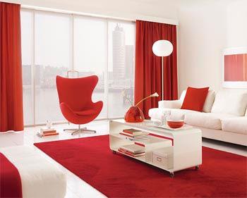 persiana sala grande, persina coloridas