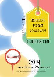 III Encuentro EEGapps III Topaketa 2014