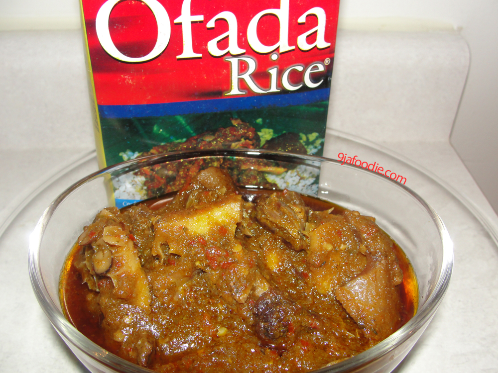 Modern african cuisine ayamase ofada stew sauce - Contemporary cuisine recipes ...