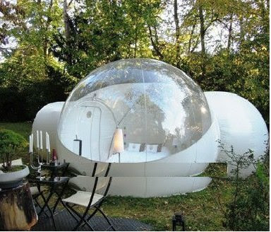 This amazing inflatable bubble tent is not affordable unless you win the lottery. To me it looks like a perfect  lunar colony  playhouse. & My Favorite Aunt: Auntieu0027s Backyard Lunar Colony