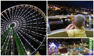 Agia Napa Luna park big wheel, Parko palitso