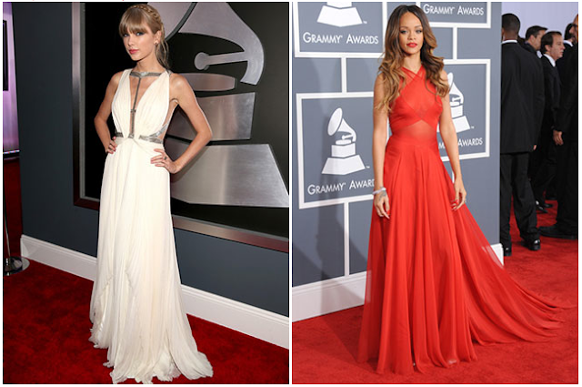 LUA Grammy 2013 Faves Best Dressed Rihanna Taylor Swift