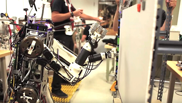 Hermes, MIT's new Robot with human reflexes