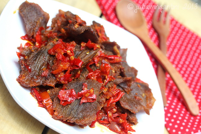 chef by accident dendeng balado