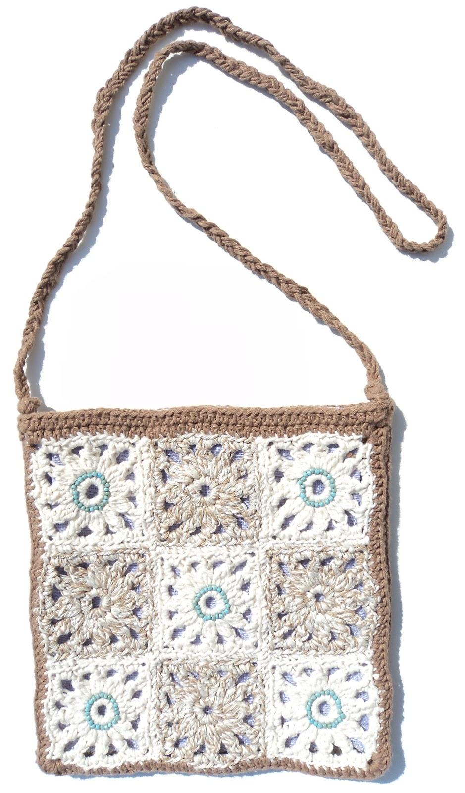 Re enganchada bolso indie - Cuadraditos de crochet ...