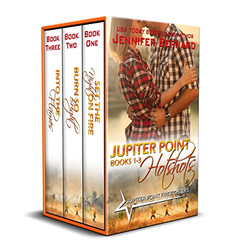 Jupiter Point Hotshots Box Set: Jupiter Point, Books 1-3 by Jennifer Bernard (CR)