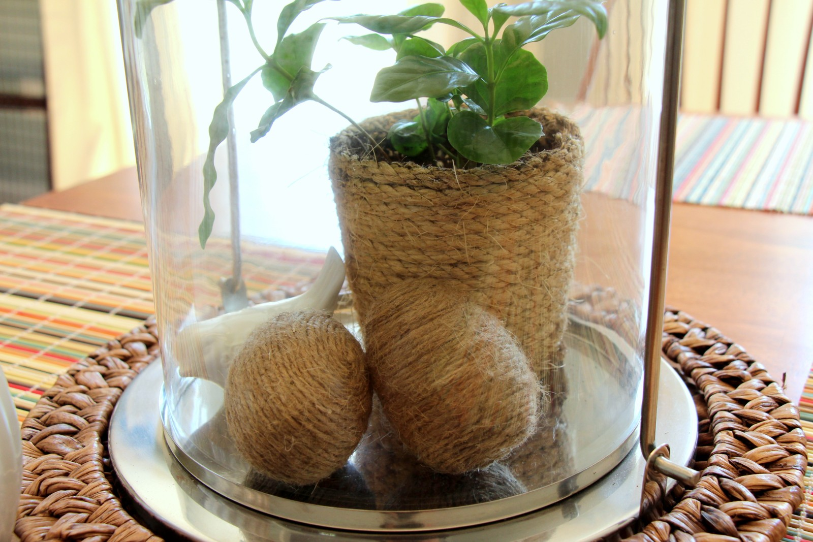 Decorating With Natural Elements heart maine home: spring decor with natural elements and textures