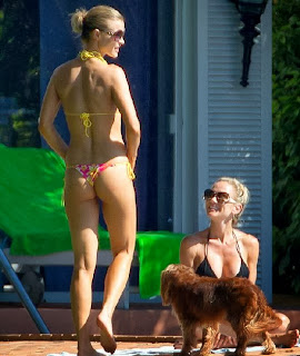 Joanna Krupa Pink Bikini Miami